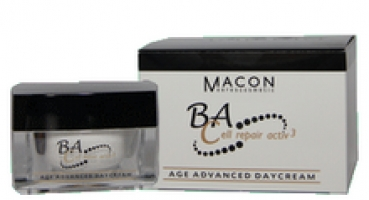 BA-CELL Age Advanced Daycreme, 50 ml - Pflegeset im Organzabeutel