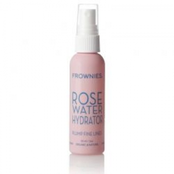 Set Frownies Stirn, 144 Pads plus Rose Water Hydrator Spray, 59 ml